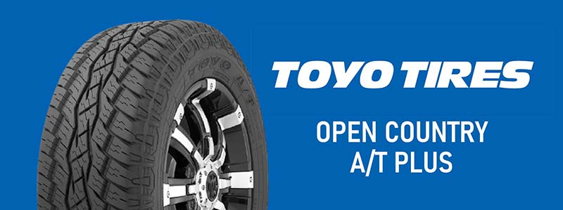 TOYO TIRES OPEN COUNTRY A/T PLUS